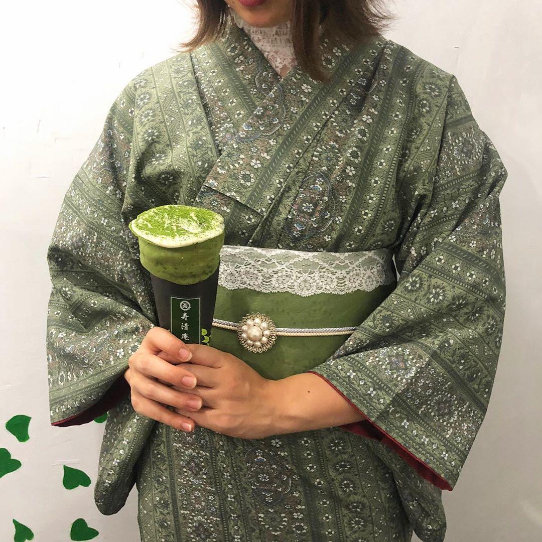 日本初!抹茶クレープ専門店♡浅草『寿清庵』✨