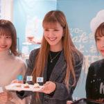 紗蘭が1日店長に♡スシローカフェ部から『紅茶のシフォンケーキ』