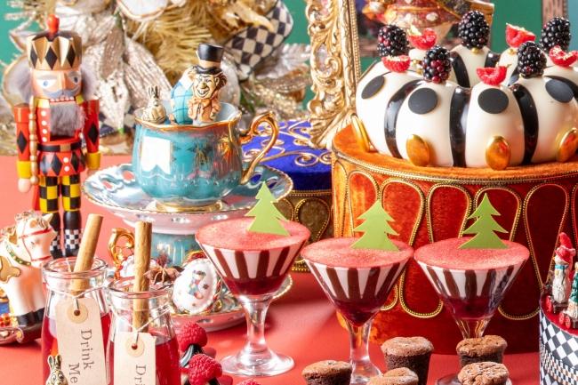 クリスマスのお茶会🎄✨ヒルトン東京「アリスの気まぐれクリスマス・ティーパーティー」💙