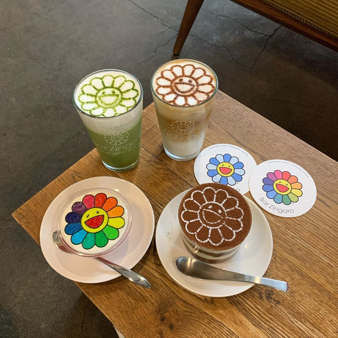 カイカイキキがいっぱい🌸♡中野にあるアートなカフェ『Bar Zingaro』💫