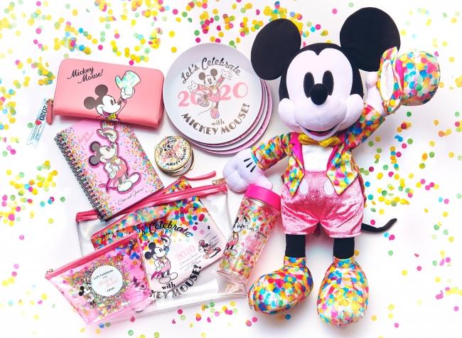 新年のハッピーな気分をタキシード姿のミッキーとお祝い🎉💓12月10日(火)より「Let's Celebrate with Mickey Mouse! -2020-」が発売✨