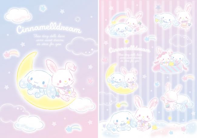 ファン待望の「シナモロール」と「ウィッシュミーメル」のコラボ第二弾♡【シナメルドリームシリーズ】🎀💖