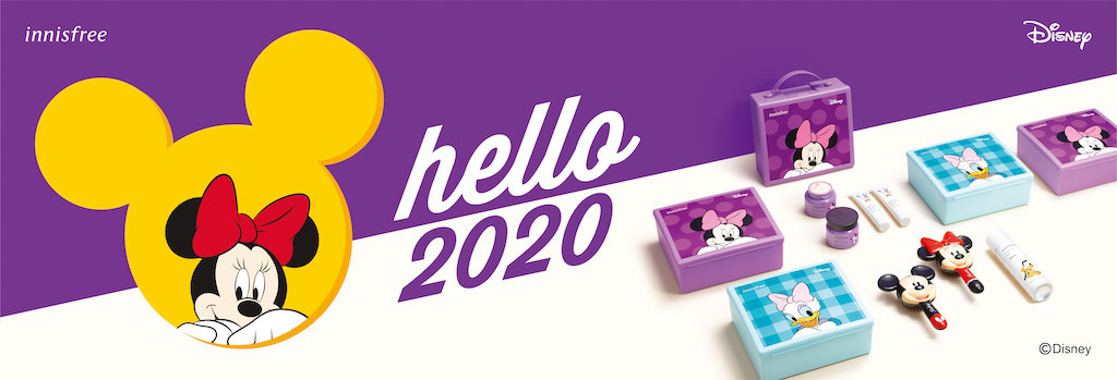 ハッピーなサプライズあふれる2020年の始まりをお届け🎉✨『innisfree』からミッキー&フレンズの限定コレクションが登場🏰💖