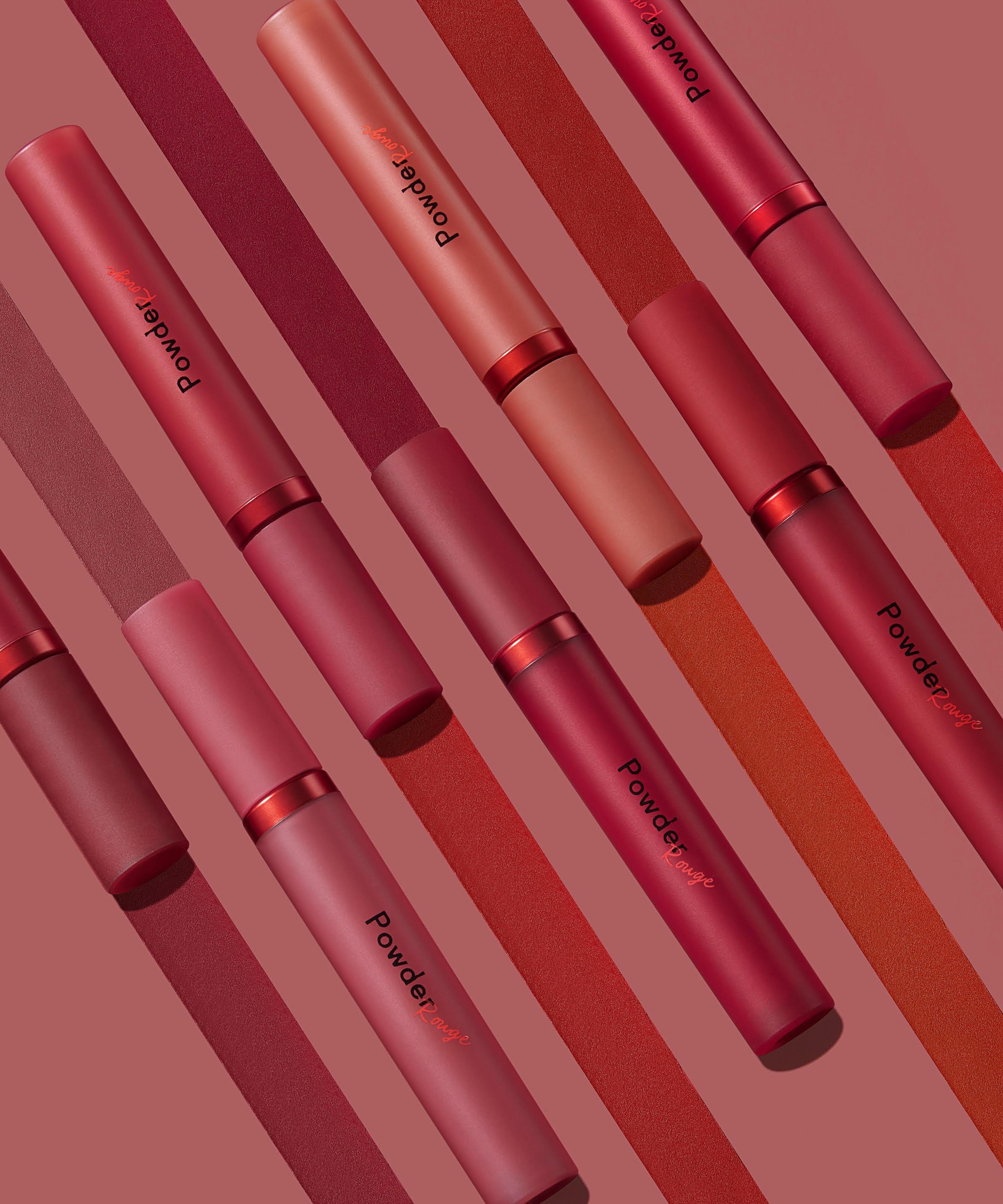 理想の「赤」を見つけて💋❤️濃厚発色のパウダリーティントリップ『パウダールージュティント』
