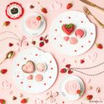 《Q-pot CAFE.》フレッシュ&フルーティーな苺づくしのValentine Menu💞2020年1月11日(土)より登場🍓✨