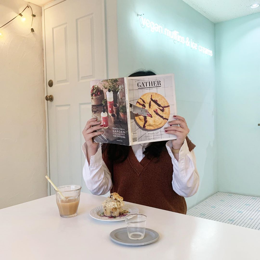 週2日のみ開店😳💓ヴィーガンスイーツカフェ『go! muffins go!』💫