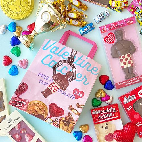 どのチョコレートを狙う?!🍫キャッチーなチョコレートからブランドチョコレートまで、PLAZAのバレンタインは見逃せない💝