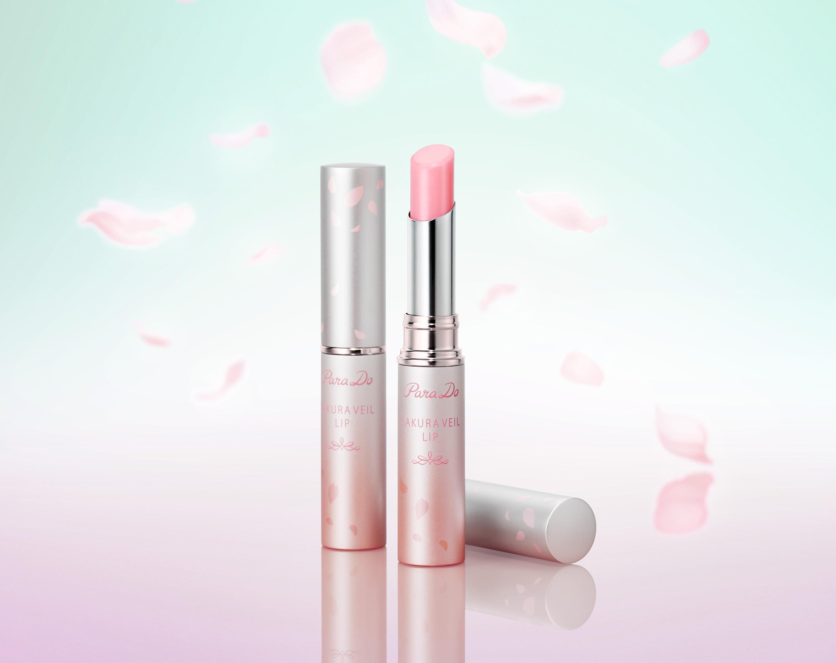しあわせ運ぶ「桜お守りリップ」🌸人気の唇用美容液に限定色が登場✨