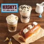 ☕️「niko and … COFFEE」が、チョコレートブランドの「HERSHEY'S KISSES」🍫とのコラボレーションメニューを発売💖