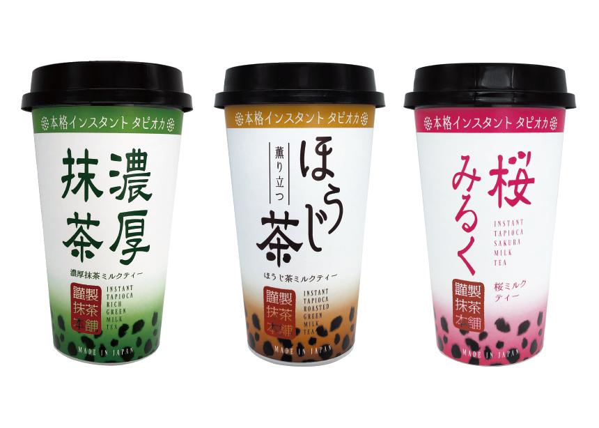 【おうちで簡単5分!】抹茶本舗🍵インスタントタピオカドリンクが発売中♡