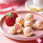 【ホワイトデー】5秒で苺ミルク!? 「銀のぶどう」からホワイトデー人気歴代No.1春ショコラが期間限定で登場🌟