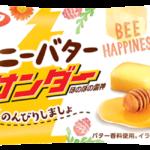 はちみつの『香り』とバターの『やさしい味わい』に癒される🧡ブラックサンダーシリーズから「ハニーバターサンダー」が発売🐝🍯🌈