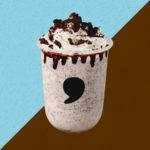 【comma tea】ココアクッキーとミルクのバランスが◎✨な「comma クッキーフラッペ」が4月1日(水)より新登場!🌈