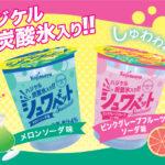 ザクザク⚡️ シュワシュワ🍾ランダムに楽しめる 新食感炭酸氷入りシャーベット「シュワベット」🌈2020年4月1日(水)より発売!