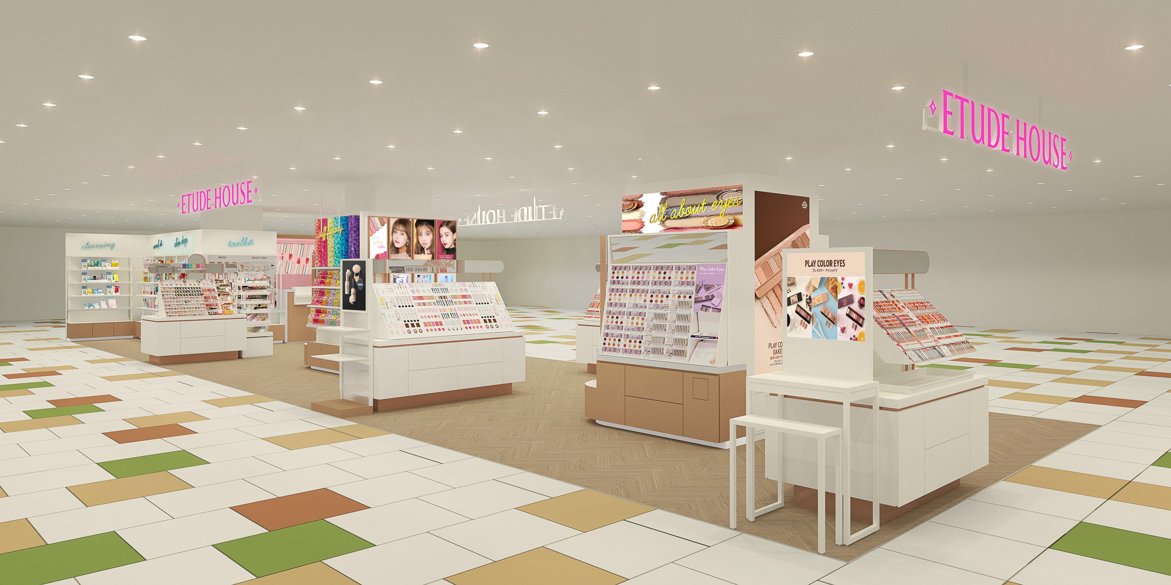【ETUDE HOUSE】4月24日(金) に『ソラリアプラザ店』オープン!🎉