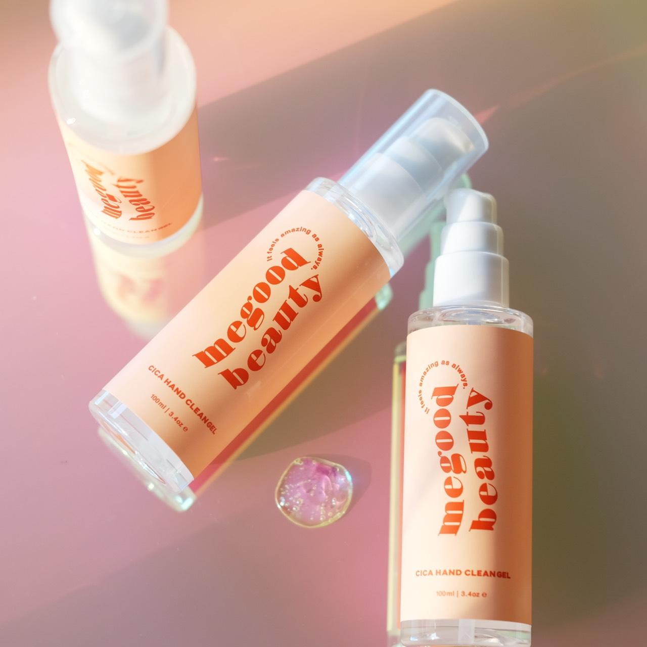 大人気【MEGOOD BEAUTY】除菌ジェルが新登場!天然美容成分ツボクサエキス配合『CICA HAND CLEAN GEL』🌟