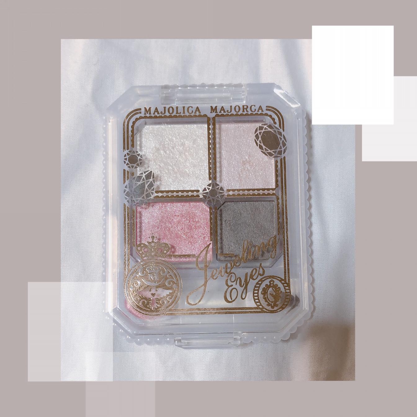 【桜メイク】マジョリカマジョルカアイシャドウをご紹介🌸