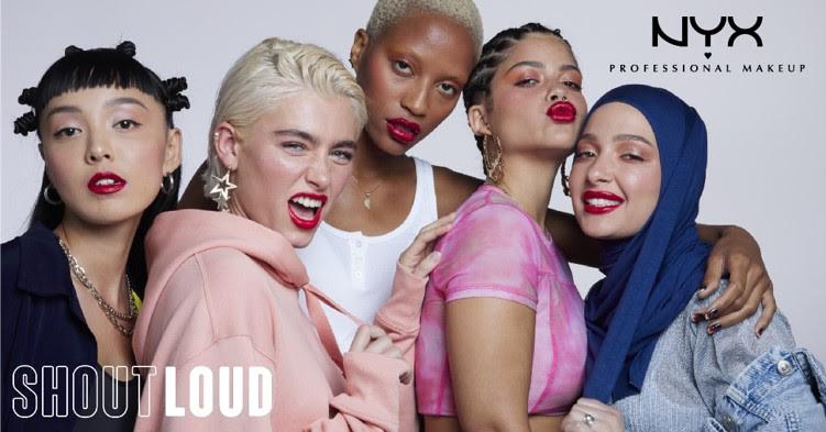 【NYX】カラーを楽しみたいすべての人に💙 高発色なサテン仕上がりリップ&マルチパレットが新発売🌟