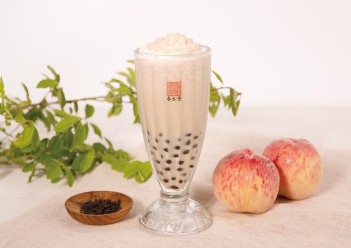 【春水堂】昨年夏、大人気だった「タピオカ白桃ミルクティー」が復活🍑💕5月12日(火)より期間限定販売🌈🌟