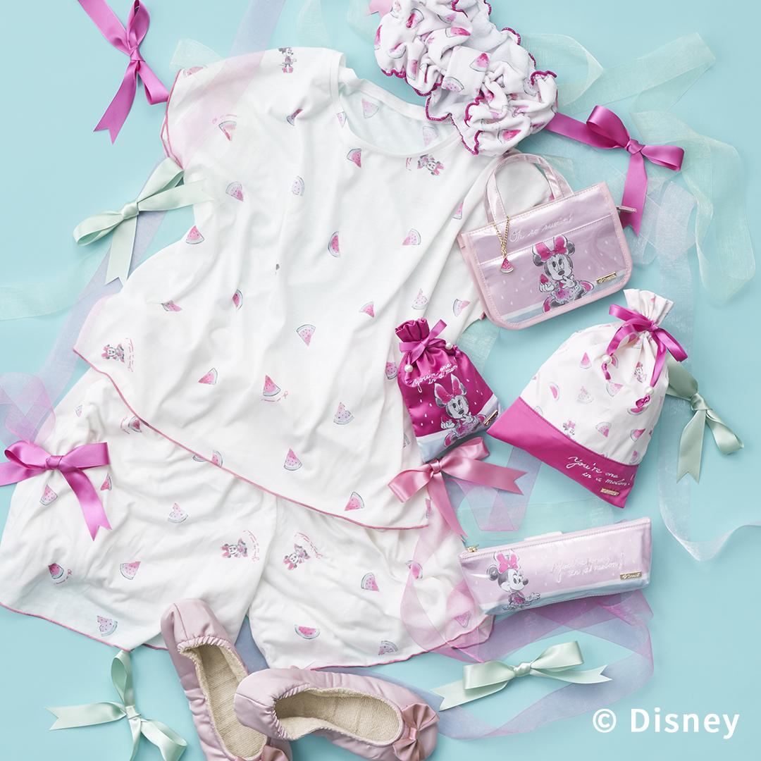 【Cocoonist】夏気分を盛り上げる ミニーのアイテムが6月4日発売👙🍉💗隠れミッキーを忍ばせたビーチタオルも🌊💙