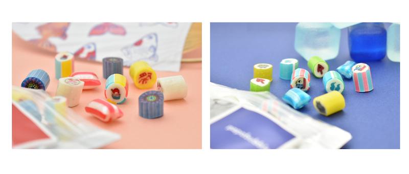 """「世界一おもしろいお菓子屋さん」 パパブブレから、""""夏""""らしいデザインのキャンディが登場🍧🎆"""