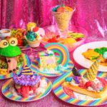 【KAWAII MONSTER CAFE】7月20日(月)~9月30日(水)まで5周年記念ランチメニューを販売中🌈💙カラフルで クレイジーなメニューを食べて一緒にお祝いしよう🎉