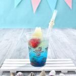 「ムーミンの日」を記念したマリンカラーのドリンク『ムーミンアイスin海のソーダ(COLD)』8月7日(金)より期間限定発売🌞🌈💙