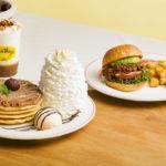 """Eggs 'n Thingsから秋の味覚""""栗""""を使ったパンケーキとスパイシーなハンバーガーが登場!🌰💖🥞"""