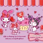 「KUROMI♡MY MELODY CAFE」でハロウィン仕様になったアフタヌーンティーセットなど後期メニューがスタート👻🧡