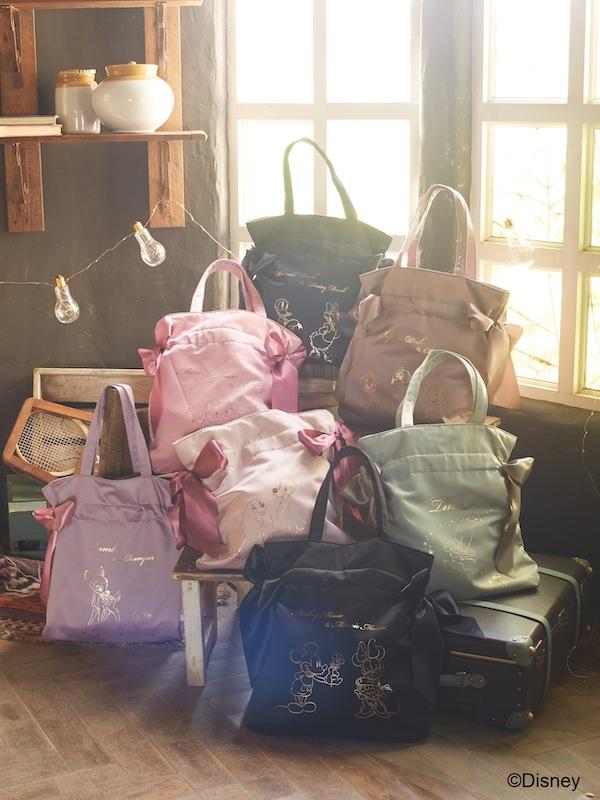 【Maison de FLEUR】Disney Collectionより『ダブルリボントートバッグ』を発売🎀💗