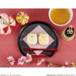 """大人気「すみっコぐらし」の和菓子「食べマス」、 今度は""""しろくま・ねこ""""のペアで全国のイオンに新登場😻🧡"""