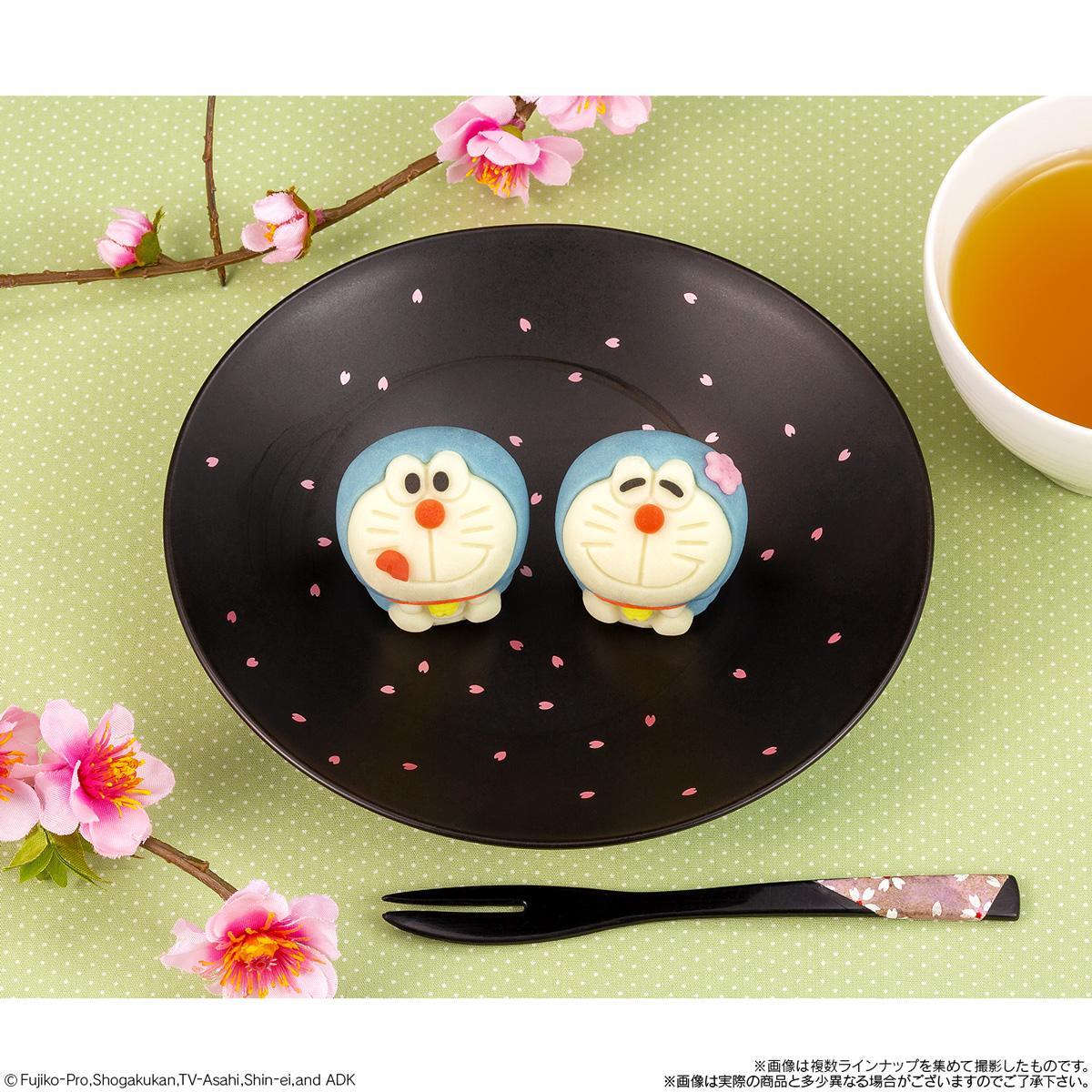 ドラえもんの和菓子が新しい表情になって登場🌟🌈