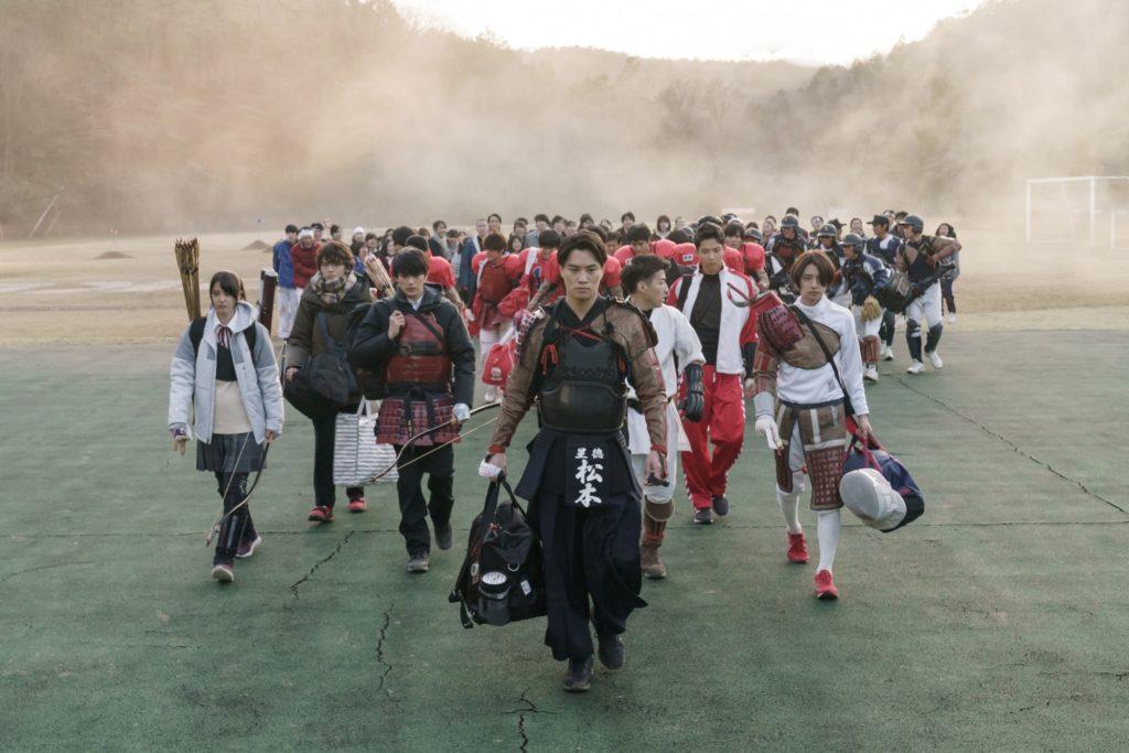 映画『ブレイブ -群青戦記-』新田真剣佑 山崎紘菜 鈴木伸之