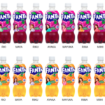「ファンタ」 NiziU限定デザインボトルが登場🌈🌟4月19日〜全国で期間限定発売🍇🍊
