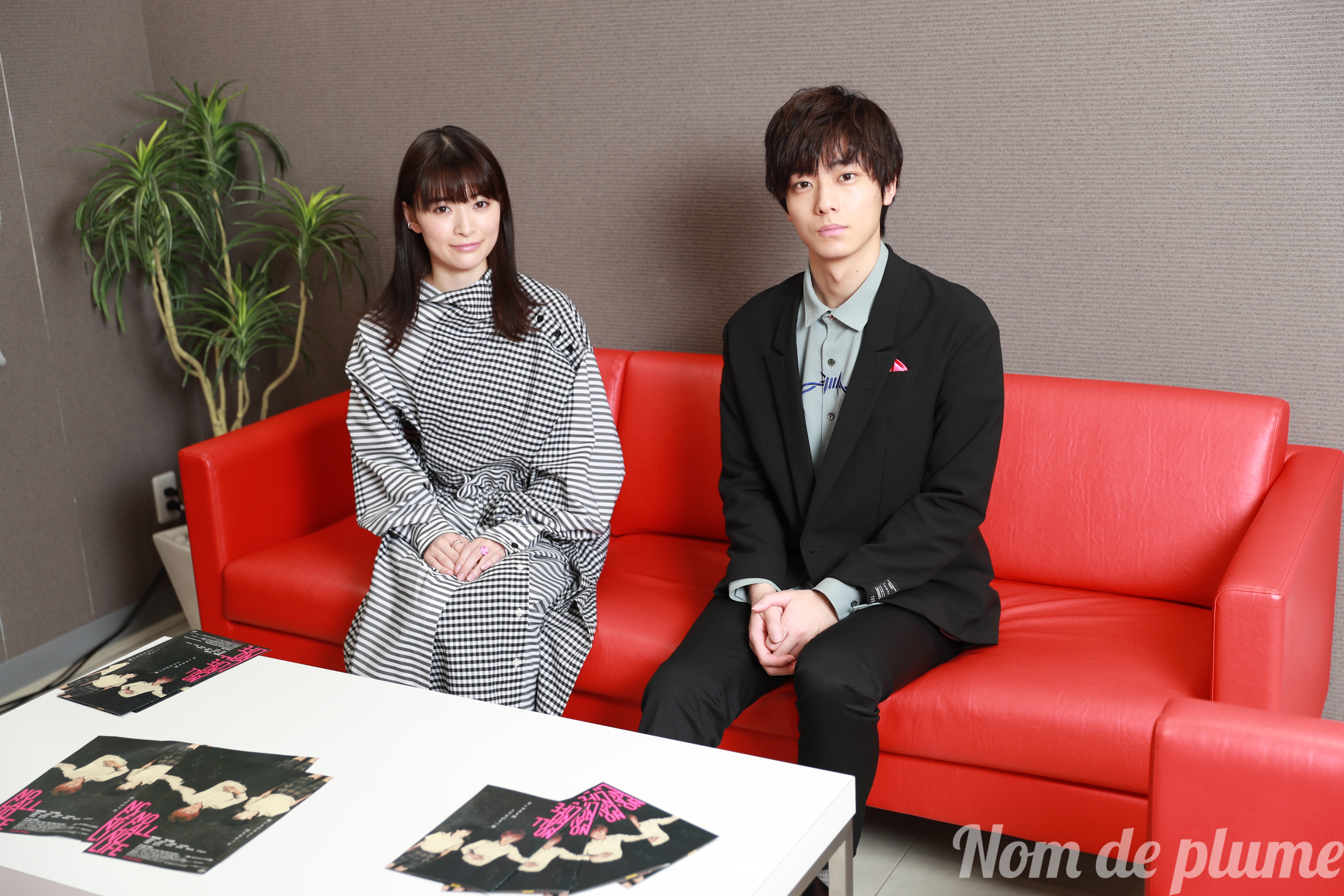 映画『NO CALL NO LIFE』優希美青、井上祐貴に独占インタビュー!🎉  「10代のふたりの気持ちがすごく理解できました」