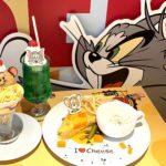 """【体験レポ】『トムとジェリー』カフェが期間限定オープン!🎉ジェリーの好物""""チーズ""""がテーマのポップな世界観をイメージしたコラボカフェ🧀💛"""