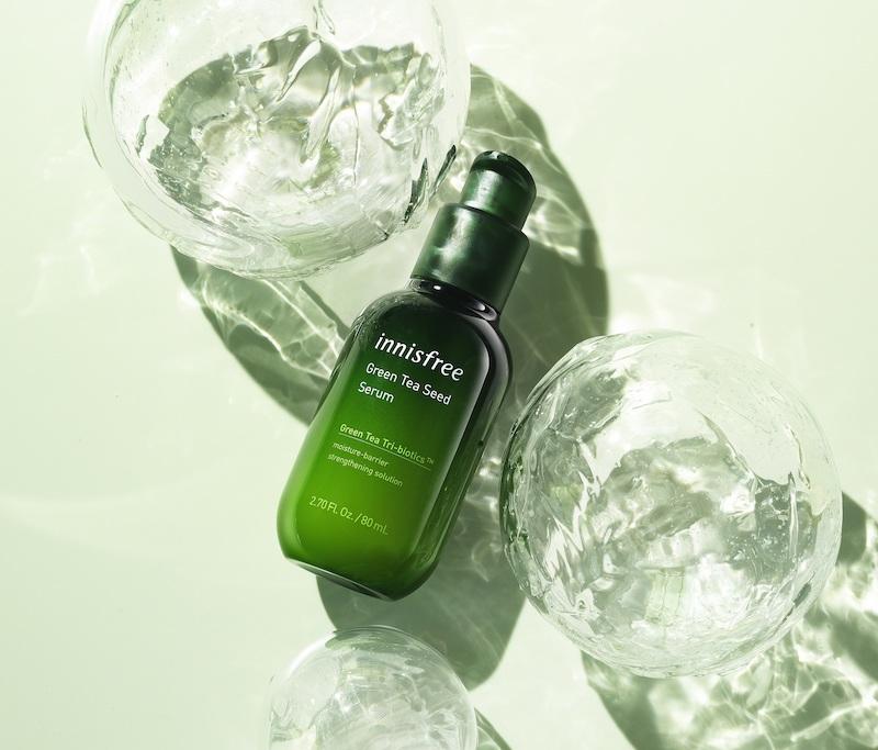 イニスフリーのNo.1*1導入美容液がリニューアル💚「グリーンティーシード セラム N」4月29日新発売🌿✨