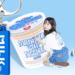 MILKFED.とカップヌードルのコラボコレクションが5月28日(金)に発売決定🌈💗