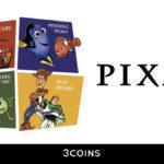 【3COINS】ピクサーの人気キャラクターをデザインした限定アイテムを7月22日より発売🏎💨
