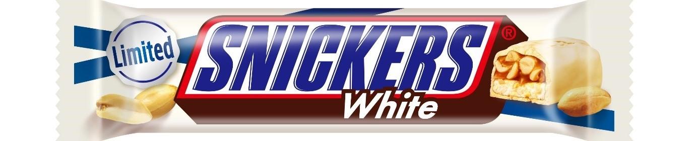 大人気のホワイトチョコのスニッカーズ®『スニッカーズ® ホワイト』が期間限定で再登場🍫🤍