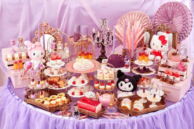 『スイーツコレクション ~ハローキティ・ マイメロディ&クロミのコスメパーティ~』が京王プラザホテルにて開催🎀💍💜
