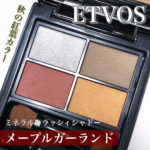 【秋コスメ】エトヴォスからお肌に優しい紅葉カラーのアイシャドウが登場🍁