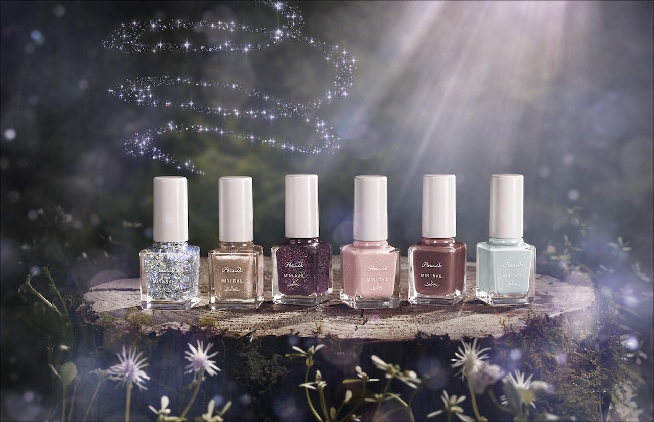 コンビニコスメ「パラドゥ」ミニネイルから秋冬新色が登場🌙テーマは「Fairy's Secret」🧚♂️✨
