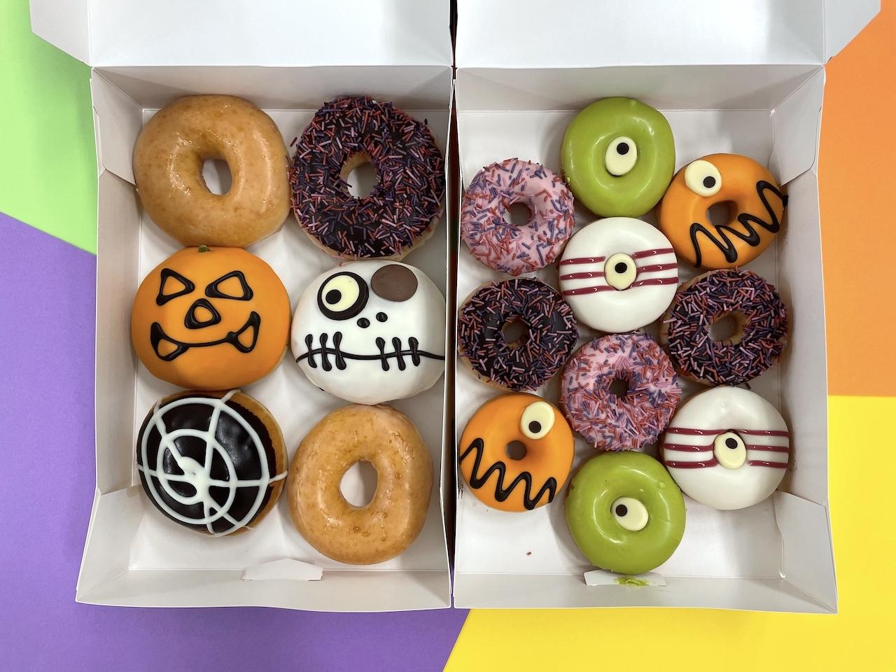 【食レポ】今年のハロウィンはクリスピー・クリーム・ドーナツの『KRISPY KREME SKREMES!』💀🍩💗