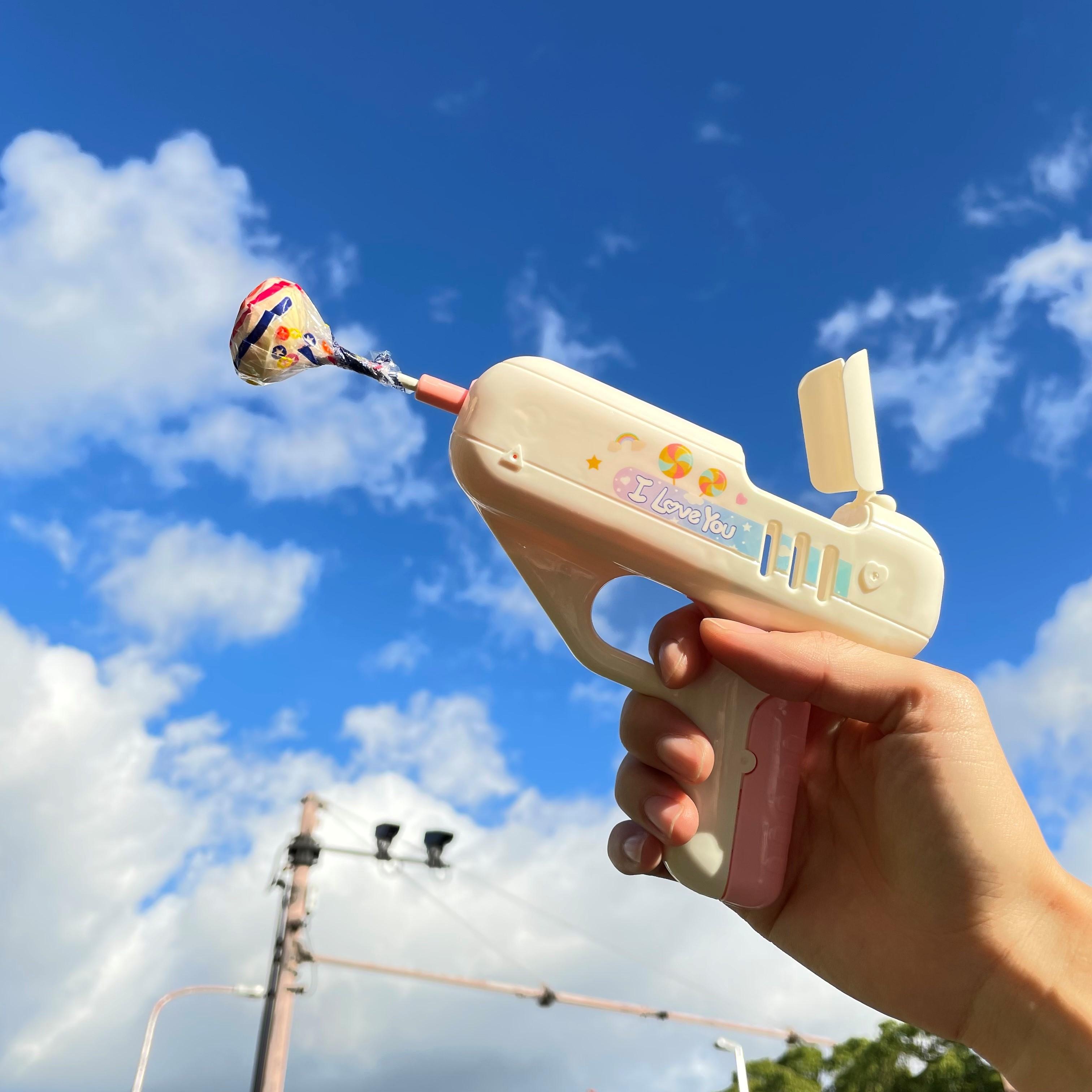 TikTok総再生回数2億回超!海外SNSで大人気の「キャンディーガン」がサンキューマートに日本初上陸🍭🔫💥