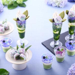綺麗すぎて180分待ちも!『抹茶×紫陽花まつり2019』、紫陽花パフェも登場💜