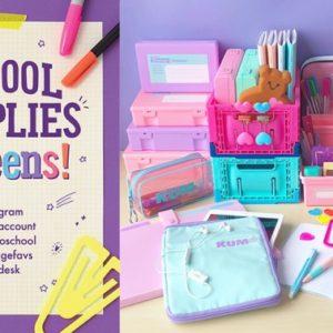 新学期は新しいアイテムで❣️PLAZAの「SCHOOL SUPPLIES fot teens!」🦄💕