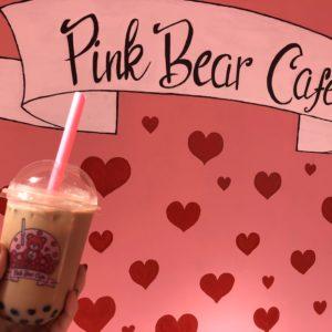 インスタ映え間違いなし!😳Pink bear cafeに行ってみた🧸💕