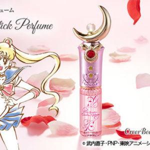 セーラームーンのアイテム【ムーンスティック】をモチーフにした香水🌹♡キラキラ輝くピンクのボトルと乙女な香りにときめいちゃう🎀