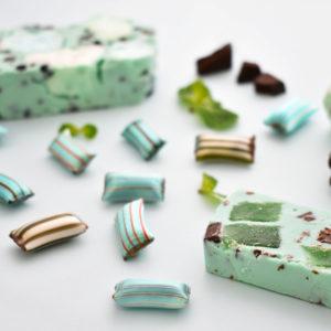 \🌱チョコミン党さん注目🍫/好みのミントレベルを選べるキャンディなどチョコミント尽くしの商品が5月20日から発売🌈💙💚